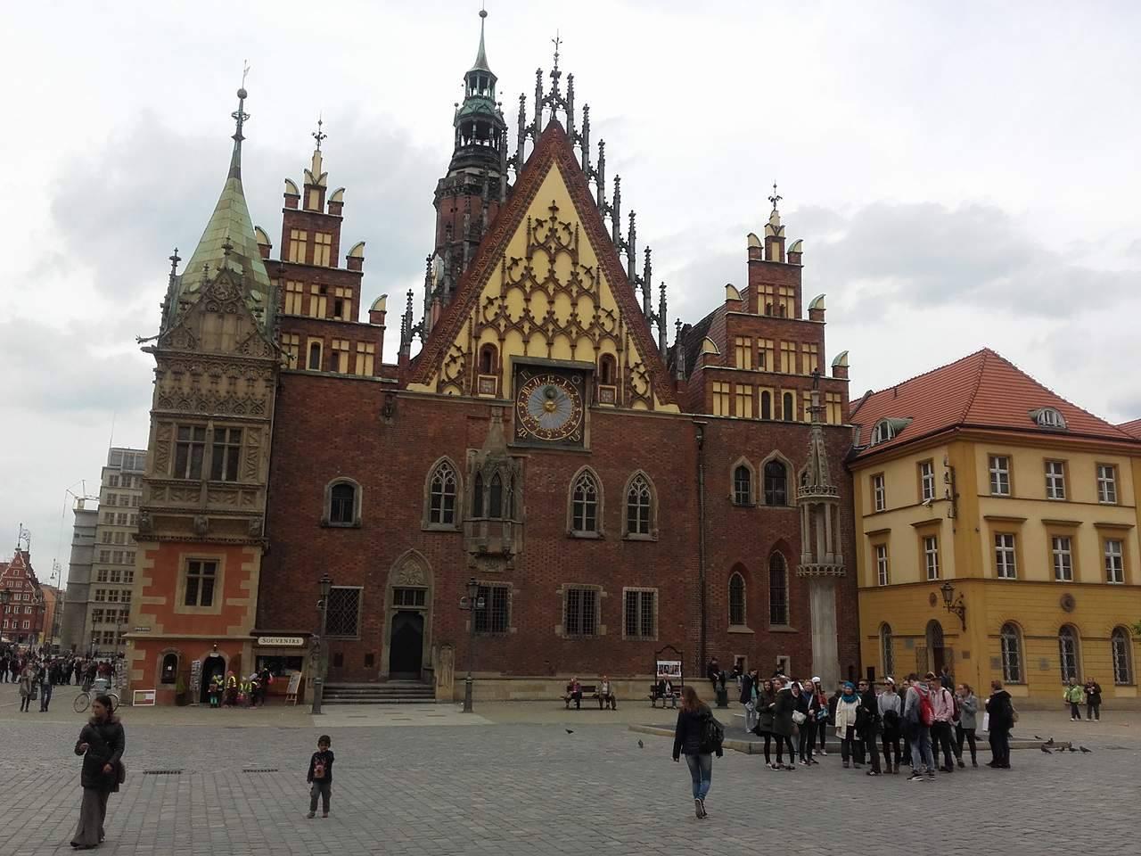 Z wizytą we Wrocławiu