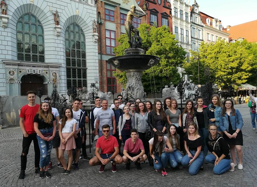 Licealiści nad Bałtykiem