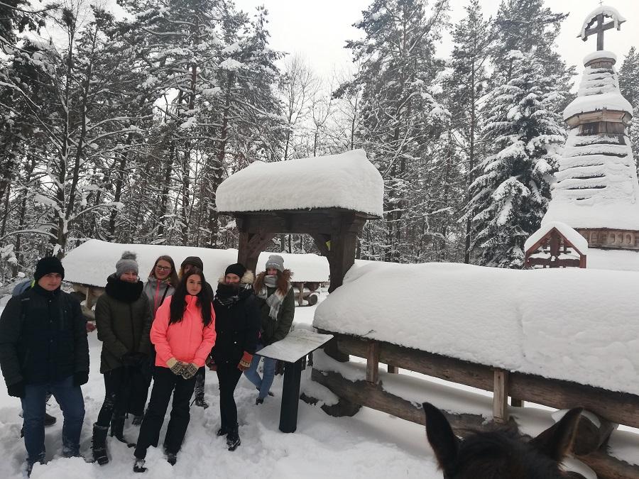 Śnieżny początek ferii