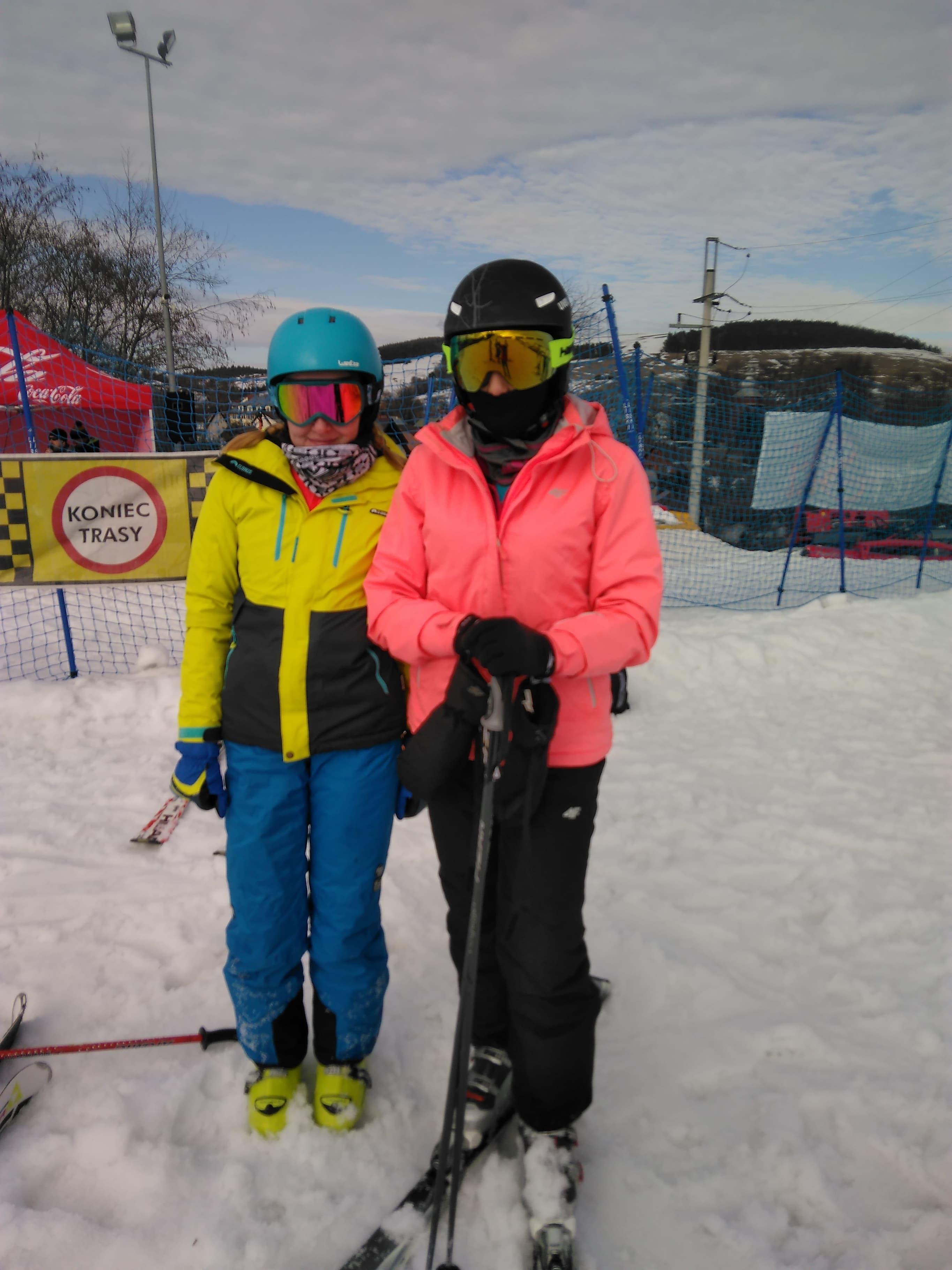Kasia zdobywa III miejsce w zawodach w narciarstwie alpejskim
