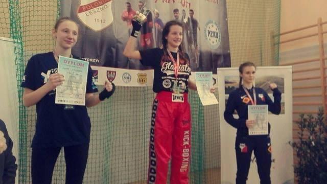 Uczennica Karolina Krok Mistrzynią Polski w kickboxingu