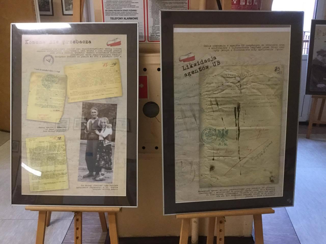 Wystawa IPN o Żołnierzach Wyklętych