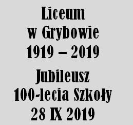 Obchody Jubileuszu Liceum 28 września 2019 r.