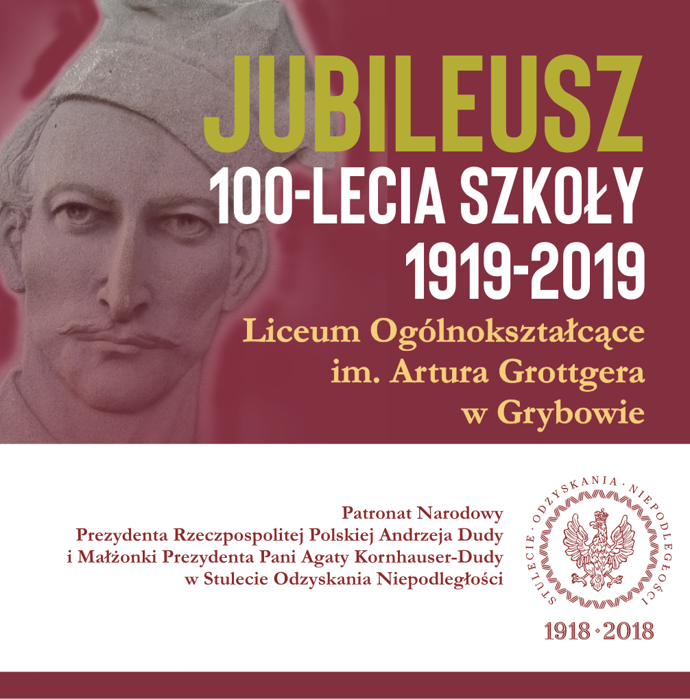 Informacje o Jubileuszu 100-lecia Szkoły