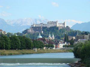 Salzburg - twierdza na szczycie Mönchsberg
