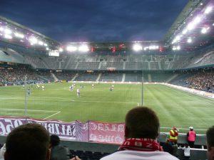 Stadion w Salzburgu