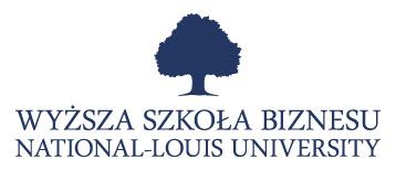 Współpracujemy z Wyższą Szkołą Biznesu - National Louis University w Nowym Sączu